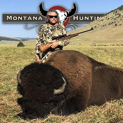 Happy Bison Hunter